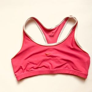 Nike Swoosh Dri Fit sports bra